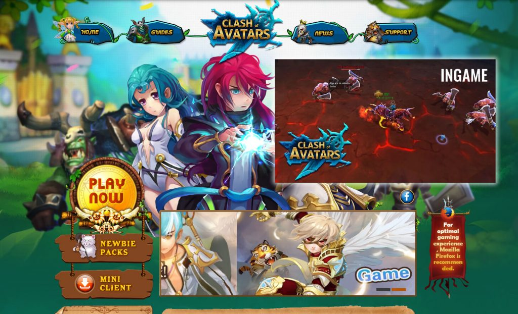 clash avatar browser game